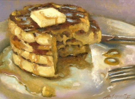 Waffles-with-Maple-Syrup-9-x12-Oil-on-panel-by-Hall-Groat-II.jpg