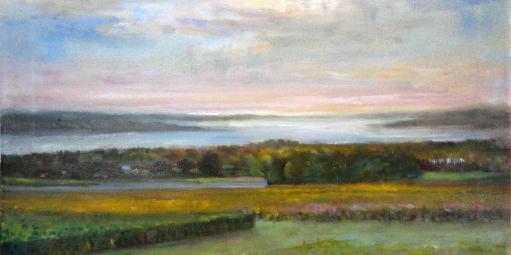 Paintings of the Finger lakes Wineries, Seneca Lake