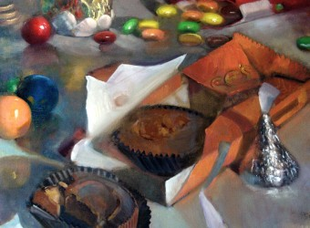 Mars Reese's Peanut Butter Cups, Candy Artwork