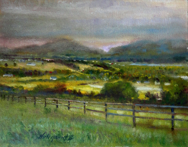 Ring Of Kerry Southern Ireland 11 X14 In Learn To Oil
