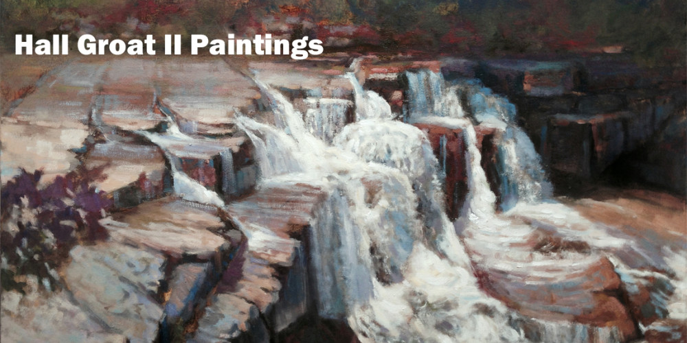 Taughannock Creek, Ulysses, New York 30×40 in. Oil on canvas