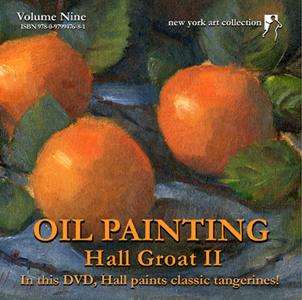 How to paint tangerines video demonstration