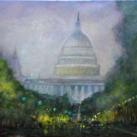 united states capitol painting
