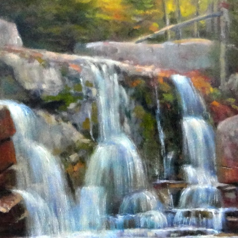 Baxter State Park Maine Painting