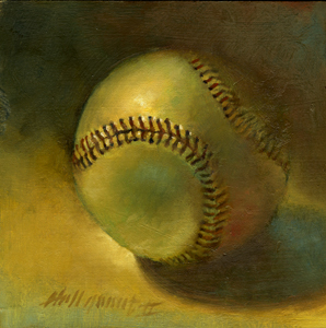 How to Oil Paint a Baseball